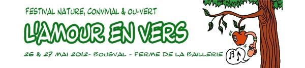 L'Amour en Vers, les 26 et 27 mai à Bousval