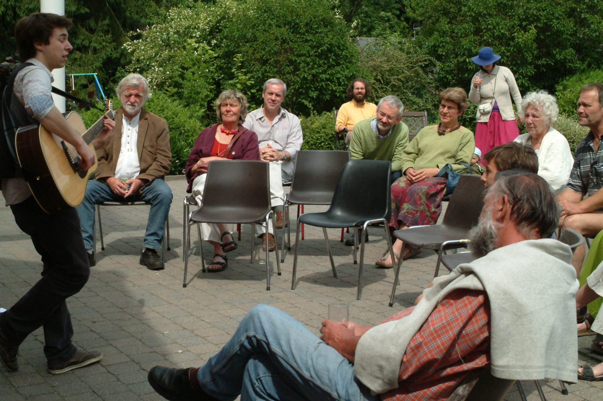 Barnabé Henri en concert à Houtain le Val le 1er juillet