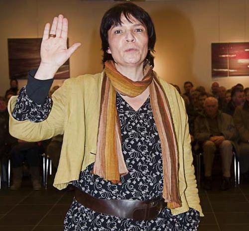 Anne Beghin, cheffe de groupe