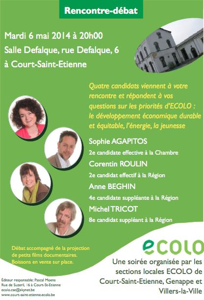 Rencontre-débat du 6 mai 2014
